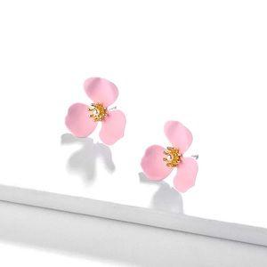 🔆3/$30 New Pink Petal & Pearl Earrings